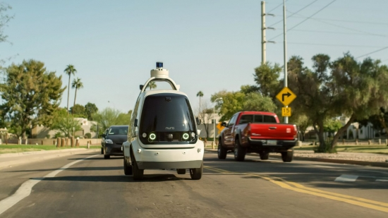 THE FIRST AUTONOMOUS VEHICLES RECEIVED APPROVAL IN THE UNITED STATES