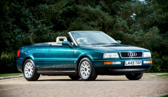 WHAT DOES THE AUDI THAT BELONGED TO PRINCESS DIANA LOOK LIKE NOW?