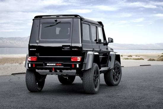 IR CRAZY TUNING MERCEDES G500 4×4