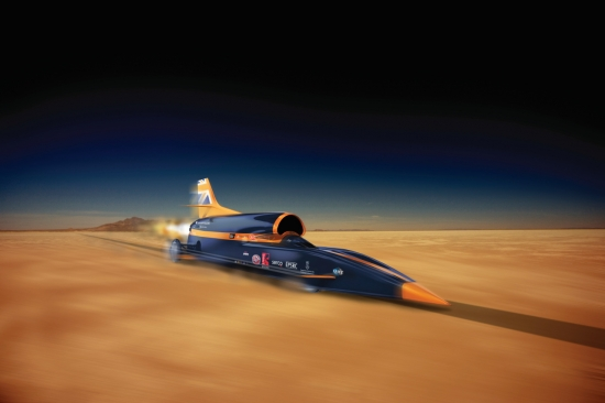 BLOODHOUND SSC-THE FASTEST CAR IN THE WORLD